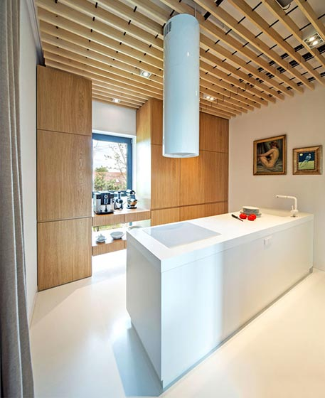 厨房木质吊顶参考图