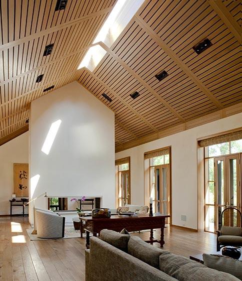 客厅吊顶装饰布置图