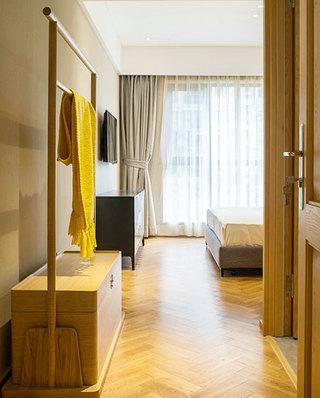140平新中式风格公寓衣架设计图