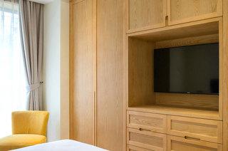 140平新中式风格公寓电视柜图片