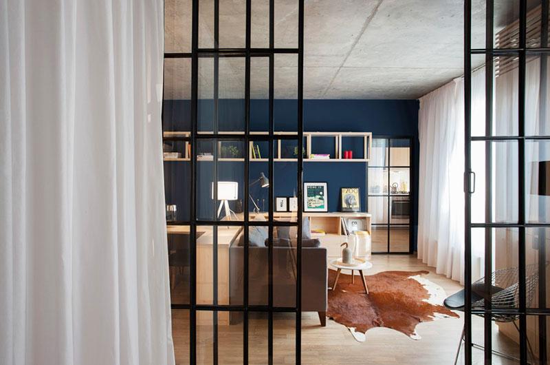 一室一厅小户型客厅地毯图