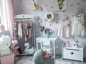 宝宝也爱美  10个儿童房陈列装饰图