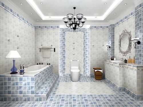卫生间瓷砖效果图赏析 选择你最爱的一款