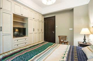 110平混搭三室两厅整体衣柜设计