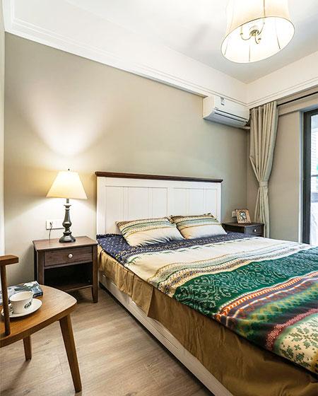 110平混搭三室两厅木地板装修