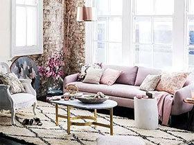 10个粉色时尚沙发图片 浪漫指数爆表