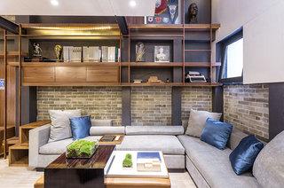 小户型跃层装修客厅效果图