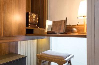 小户型跃层装修卧室书桌图