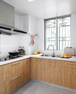 100平日式三居室厨房装潢设计