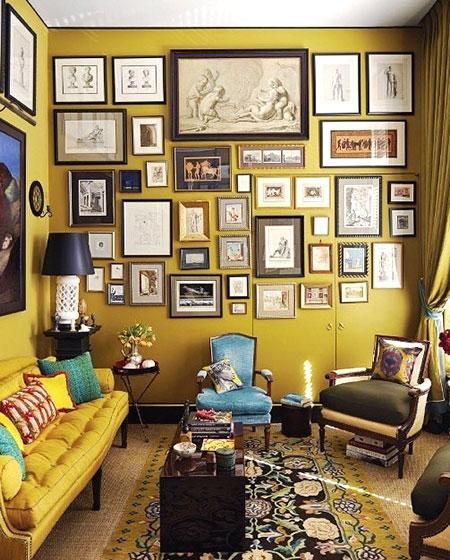 客厅照片墙设计效果图