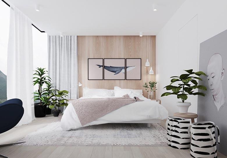 卧室布置摆放图片