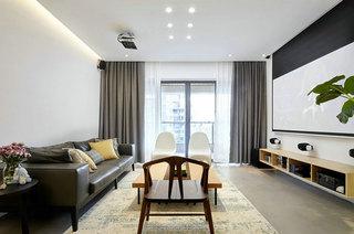 150平日式风格客厅效果图