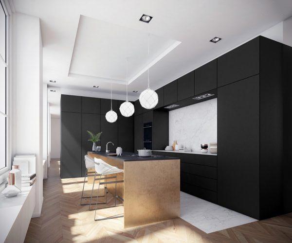 现代简约厨房 整体橱柜装饰设计