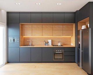 多功能厨房设计构造图