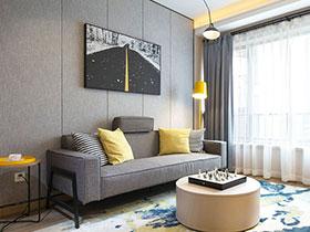 时尚现代北欧风情 三居样板房欣赏