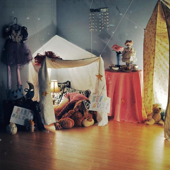卧室帐篷装修装饰效果图