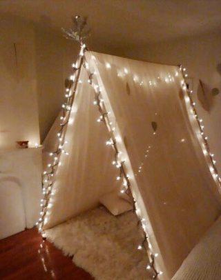 卧室帐篷布置设计图