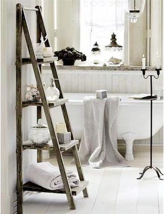 卫生间梯子装修装饰效果图