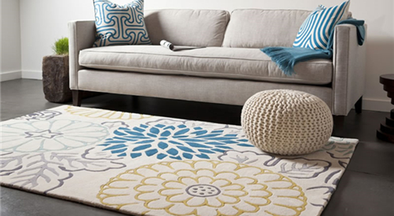 沙发地毯什么颜色好 搭配技巧有哪些