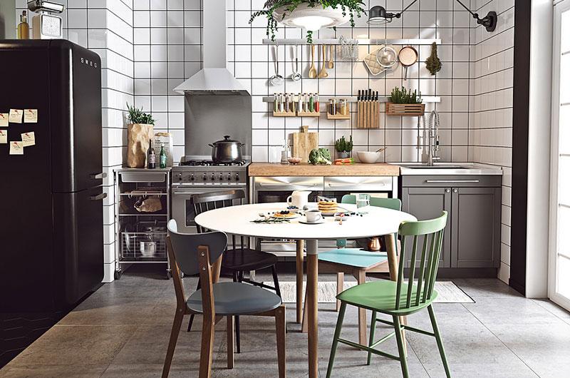 小户型单身公寓餐厅装修图