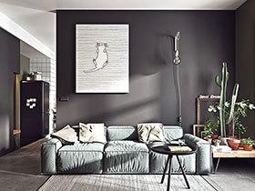小户型单身公寓装修 一个人的精致生活