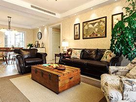 144平美式风格三居室装修 生活的颜色