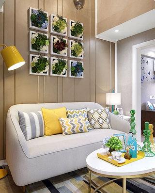 小户型loft装修客厅装潢图