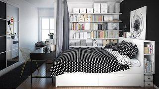 温馨卧室设计摆放图