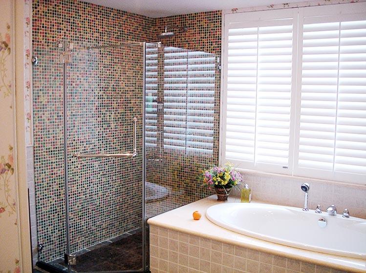 浴室马赛克平面图