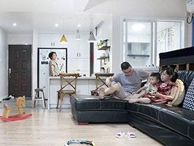 120平学区房美式风格装修 童趣空间