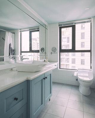 北欧卫生间浴室柜效果图