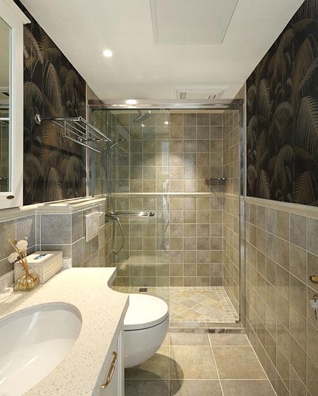 190平样板房装修卫生间装修图