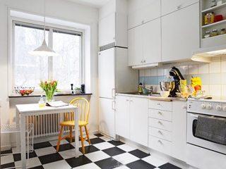 厨房素色墙砖构造图