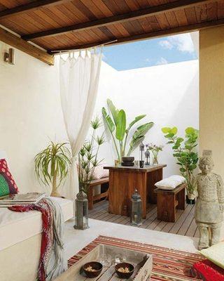 阳台小客厅设计实景图