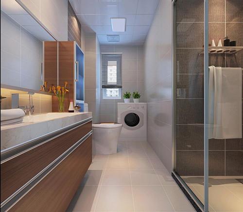 卫生间装饰效果图 装饰光彩照人的卫生间