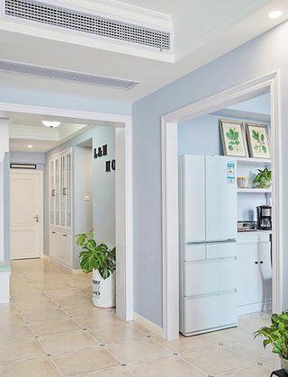 明亮小清新简美式 家居过道设计