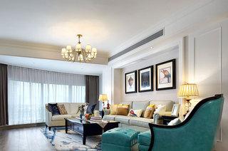 168平美式风格四室两厅装修