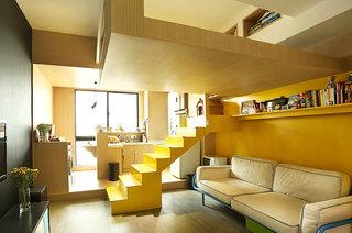 35平loft装修客厅设计图
