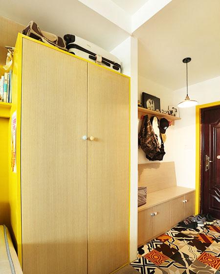 35平loft装修玄关柜设计