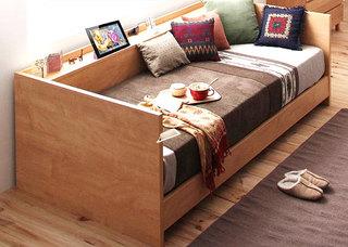 小户型木质沙发床装修