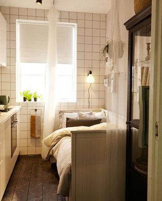 小户型厨房沙发床设计装修