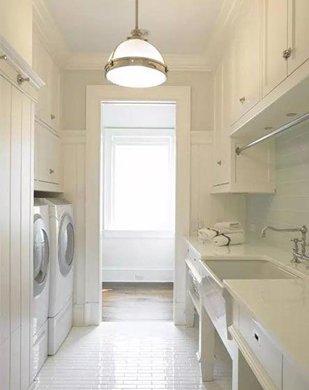 洗衣房收纳设计实景图