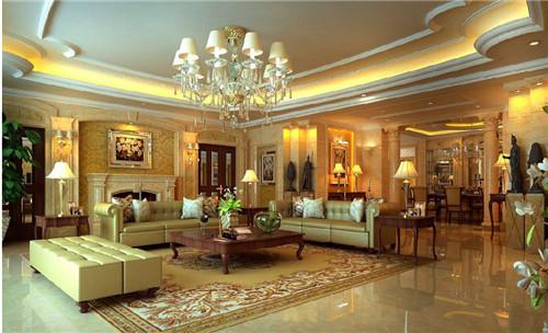 客厅天花吊顶效果图 小居室客厅装修必备