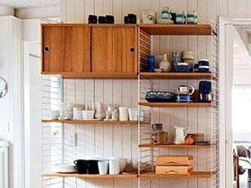 10个木质置物架效果图 实力为家省空间