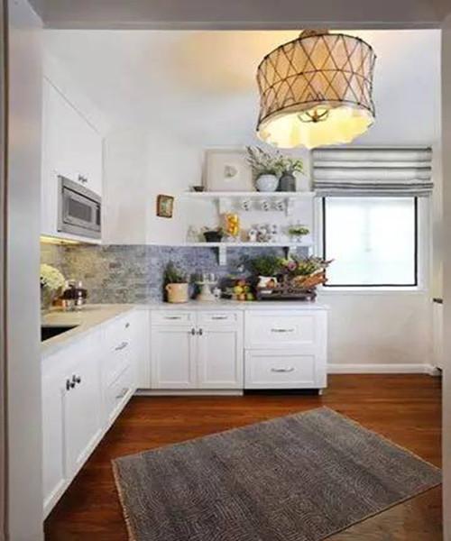 小厨房装修效果图 5平米厨房玩出新花样