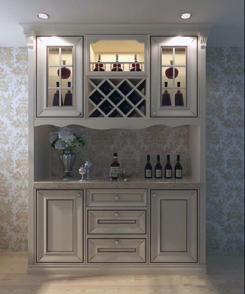 客厅酒柜装修效果图 高品味客厅酒柜