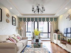 104平美式风格小三室装修 美丽邂逅