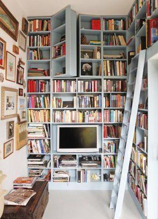 书架屋装修装饰效果图