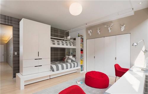 双人儿童房装修效果图 儿童房这样装修少烦恼