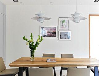 文艺宜家风餐厅照片墙设计